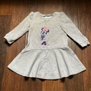 GapKids Long-Sleeved Minnie Skater Dress (Size 3T)